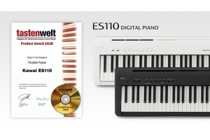 Kawai ES110 Portable Piano wins Tastenwelt Magazine Product Award