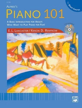 PIANO 101 THE SHORT COURSE BK/CD