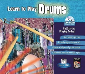 LEARN TO PLAY DRUMS CD ROM JEWEL CASE