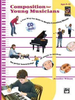 COMPOSITION FOR YOUNG PEOPLE BK/CD