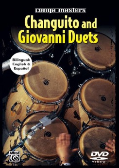 CONGA MASTERS CHANGUITO AND GIOVANNI DUETS DVD