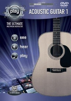 PLAY ACOUSTIC GUITAR 1 DVD