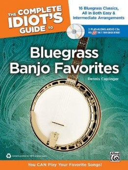 COMPLETE IDIOTS GUIDE TO BLUEGRASS BANJO FAVOURI