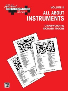 ALL ABOUT INSTRUMENTS CROSSWORDS