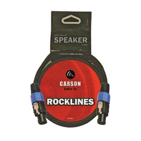 Carson Cable Co Rsn30 030 Ft Speaker Cable Speakon M Connectors 7Mm O