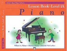 Alfred's Basic Piano Library: Lesson Book 1A BK/CD Universal Edition