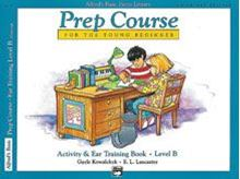 Alfred's Basic Piano Prep Course: Activity & Ear Training Book B Universal Edition