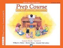Alfred's Basic Piano Prep Course: Lesson Level A Universal Edition Bk/CD
