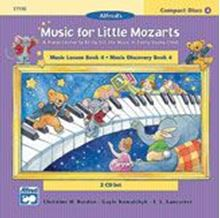 Music for Little Mozarts: CD 2-Disc Sets for Lesson and Discovery Books Level 4