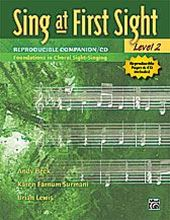 Sing at First Sight Level 2 Book/Cd