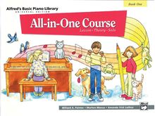 Alfred's Basic All-in-One Course Book 1 Universal Edition
