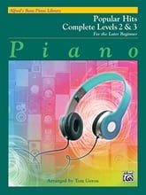 Alfred's Basic Piano Library: Popular Hits Level 2/3 Complete