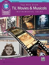 Top Hits from TV Movies & Musicals Asax Book/CD