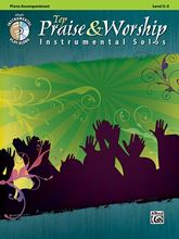 Top Praise and Worship Instrumental Solos Piano Accompaniment Bk/CD