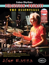 Cuban Rhythms for Percussion & Drumset Book/DVD