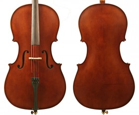 Enrico Student II Cello Outfit - 1/2