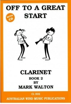 Off to a Great Start for Clarinet Bk2 with CD