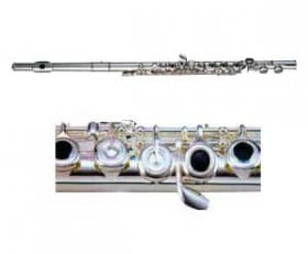 Linley Flute-Silverplated Open Hole
