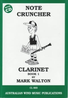 Note Cruncher For Clarinet Bk1 with CD