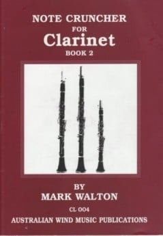 Note Cruncher for Clarinet Bk2 with CD