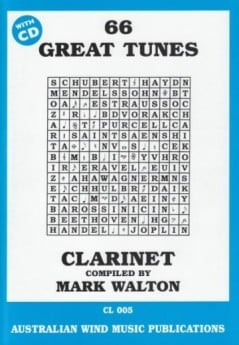 66 Great Tunes for Clarinet with CD
