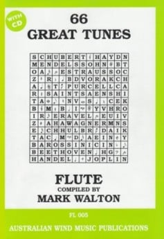 66 Great Tunes for Flute with CD