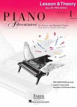 Piano Adventures All-In-Two Level 1