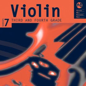 AMEB Violin Series 7 - CD and Notes Third and Fourth Grades