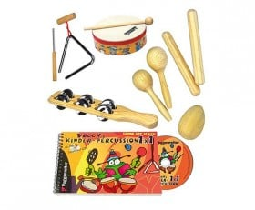 Voggys Book&CD&Backpack Set Percussion