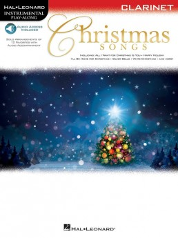 Christmas Songs Clarinet Book with Online Audio