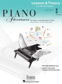 Piano Adventures All In Two 3 Lesson Theory