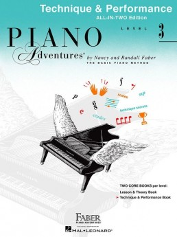 Piano Adventures All In Two 3 Technique Performance