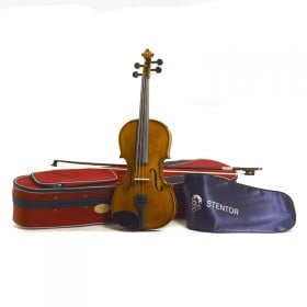 STENTOR S1508 1/8 Size Violin Outfit Antique Chestnut
