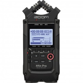 Zoom H4n PRO Handy Recorder - Limited Edition Black