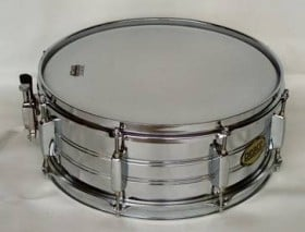 PEACE 14 X 5.5 INCH SNARE DRUM METAL OUTFIT