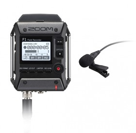 ZOOM F1-LP RECORDER & LAVALIER MIC PACK