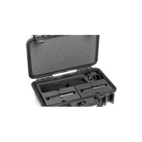 D:DICATE 2011C STEREO PAIR WITH CLIPS AND WINDSCREENS IN PELI CASE