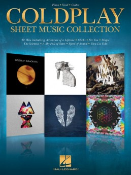 COLDPLAY SHEET MUSIC COLLECTION PVG
