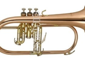 WI-FLH-600SP Wisemann Flugelhorn, Silver Plated (Lacquer model pictured)