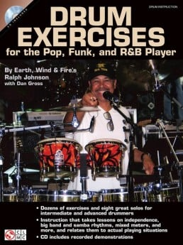 Drum Exercises for the Pop Funk and R&B Player