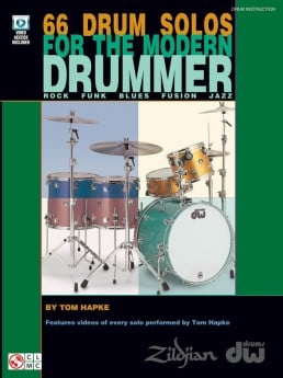 66 Drum Solos For The Modern Drummer Book & DVD