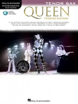 QUEEN FOR TENOR SAX UPDATED EDITION BK/OLA
