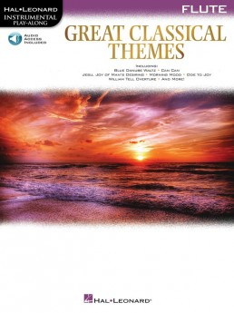 GREAT CLASSICAL THEMES FOR FLUTE BK/OLA