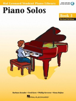 Piano Solos - Book 3 - Book/CD Pack