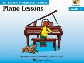 Piano Lessons - Book 1 Audio and MIDI Access Included