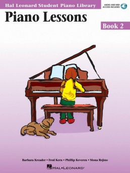 Piano Lessons - Book 2 Audio and MIDI Access Included