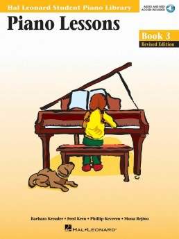 Piano Lessons - Book 3 Audio and MIDI Access Included