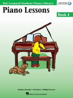 Piano Lessons - Book 4 Audio and MIDI Access Included