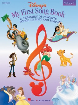 DISNEYS MY FIRST SONGBOOK VOL 1 EASY PIANO