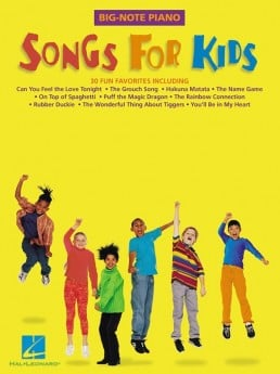 Songs For Kids Big Note Piano